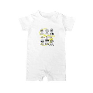 ALL OLDMAN Baby rompers