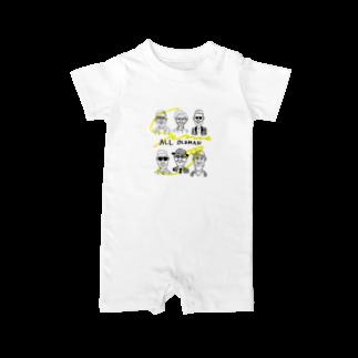 senna009のALL OLDMAN Baby rompers