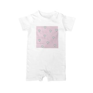 ピンクダイヤモンド Baby rompers