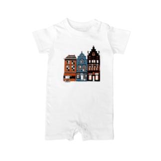 オランダ街A Baby rompers