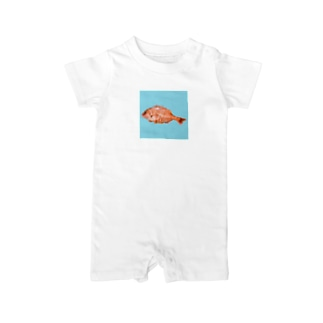 あの海へ帰りたい by Wanna&Co. Baby rompers