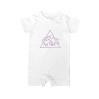 Baby トリケラトプス Baby Rompers