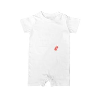 家族シリーズ:長女(白字) Baby rompers
