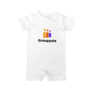 Groupysta公式グッズ Baby Rompers