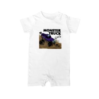 MonsterTruck Baby rompers