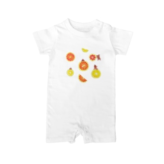 citrus fruits Baby rompers