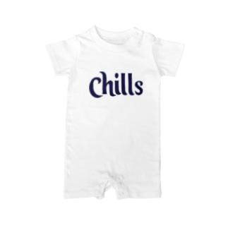 locanino Chillデザイン Baby Rompers
