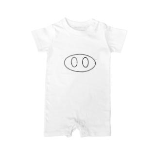 ブタの鼻🐽 Baby rompers