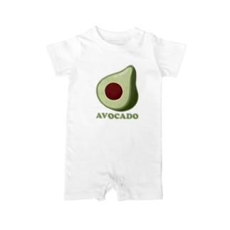 Avocado-アボカド- Baby Rompers