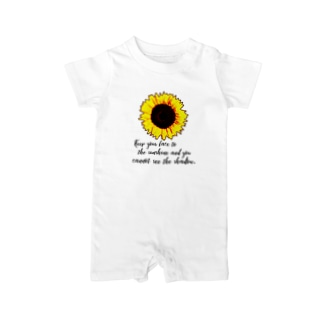 sunflower② Baby rompers