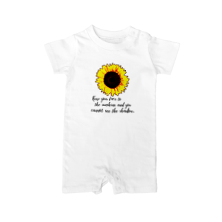 Fabergeのsunflower② Baby rompers