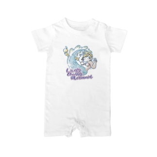 CHUBBY MERMAID Baby rompers