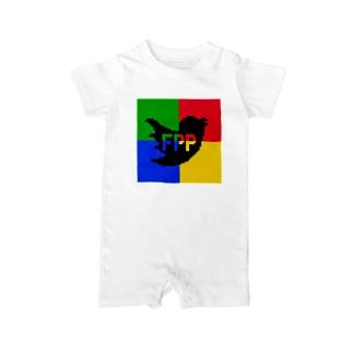 FPP (ファンキーパーティーピーポー) Baby rompers