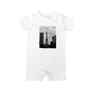 TOKYO TOWER Baby rompers
