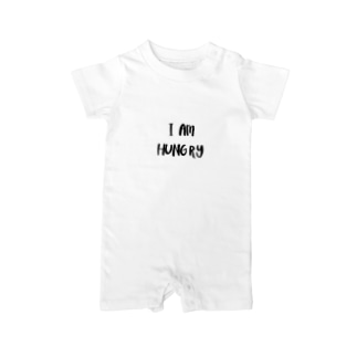 ❈『I am hungry』baby rompers❈ Baby rompers