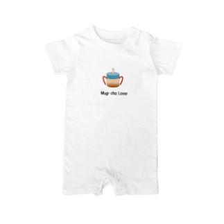麦茶Lover Baby rompers