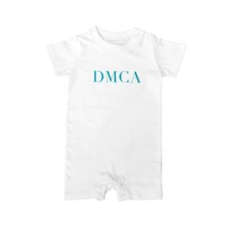 DAMN DMCA Baby rompers