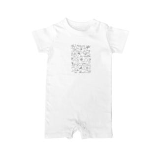 Benzene ring Baby rompers