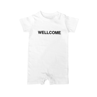 WELLCOME-ウェルカム- Baby Rompers
