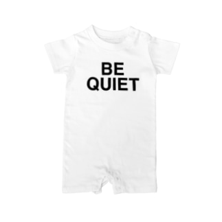 BE QUIET-ビークワイエット- Baby Rompers