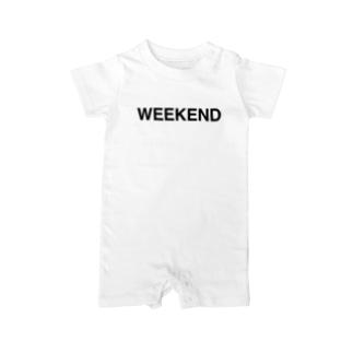 WEEKEND-ウィークエンド- Baby Rompers