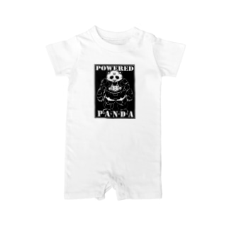 POWERED PANDA Baby rompers