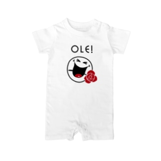 Ole SMILEY [俺、スマイリー] Baby rompers