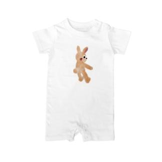 甘えんぼウサギ【ゆめかわアニマル】 Baby rompers