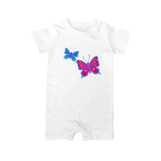 Butterfly GIRL Baby rompers