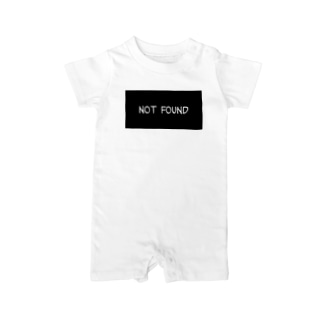 not found Baby rompers