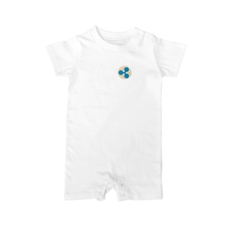MOON XRP Whitefont Baby rompers