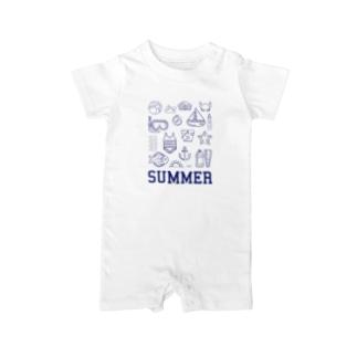 ハッピーサマー Baby rompers