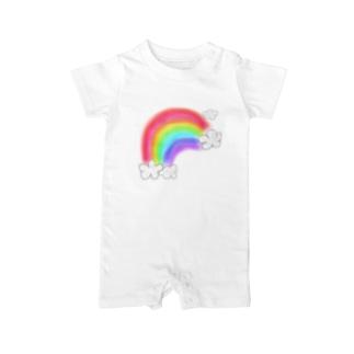 Rainbow Baby rompers