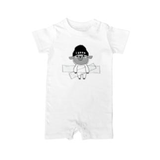 I.gasu sheep【アイガス】 Baby rompers