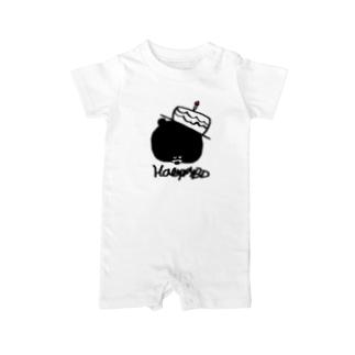 egu shopのHBDKUMA Baby rompers