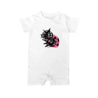 Bugs series -ladybug- Baby rompers