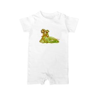 Bugs series -slug- Baby rompers