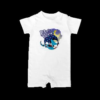 仮想通貨Verge Japan(バージ ジャパン) 公認SHOPのバージリスク(ムーン) Baby rompers