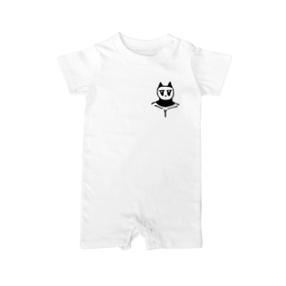 っょぃパンダ Baby rompers