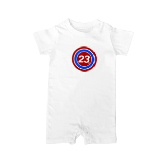 23Whisper_round Baby rompers