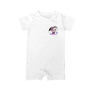 一ノ瀬彩ちびキャラ:LOGO付【ニコイズム様Design】 Baby rompers