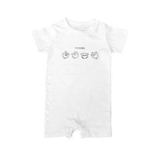 SHIROME(しろめ) Baby Rompers