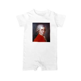 モーツァルト Baby rompers
