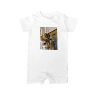 プラプラアポロ Baby rompers