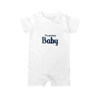 Family♥︎私たちの大切な赤ちゃん Baby Rompers