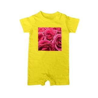 ピンクローズ Baby rompers