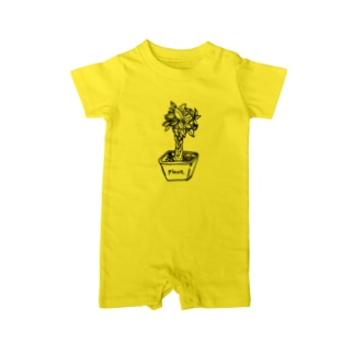 plant Baby rompers