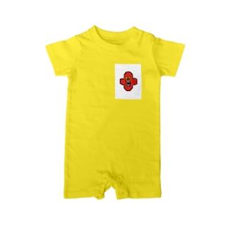 うおっぽファンシースーツ Baby rompers