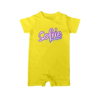 Sofure柔軟剤タイプ。 Baby rompers