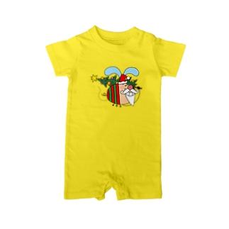BeeTonのエンジョイクリスマス Baby rompers